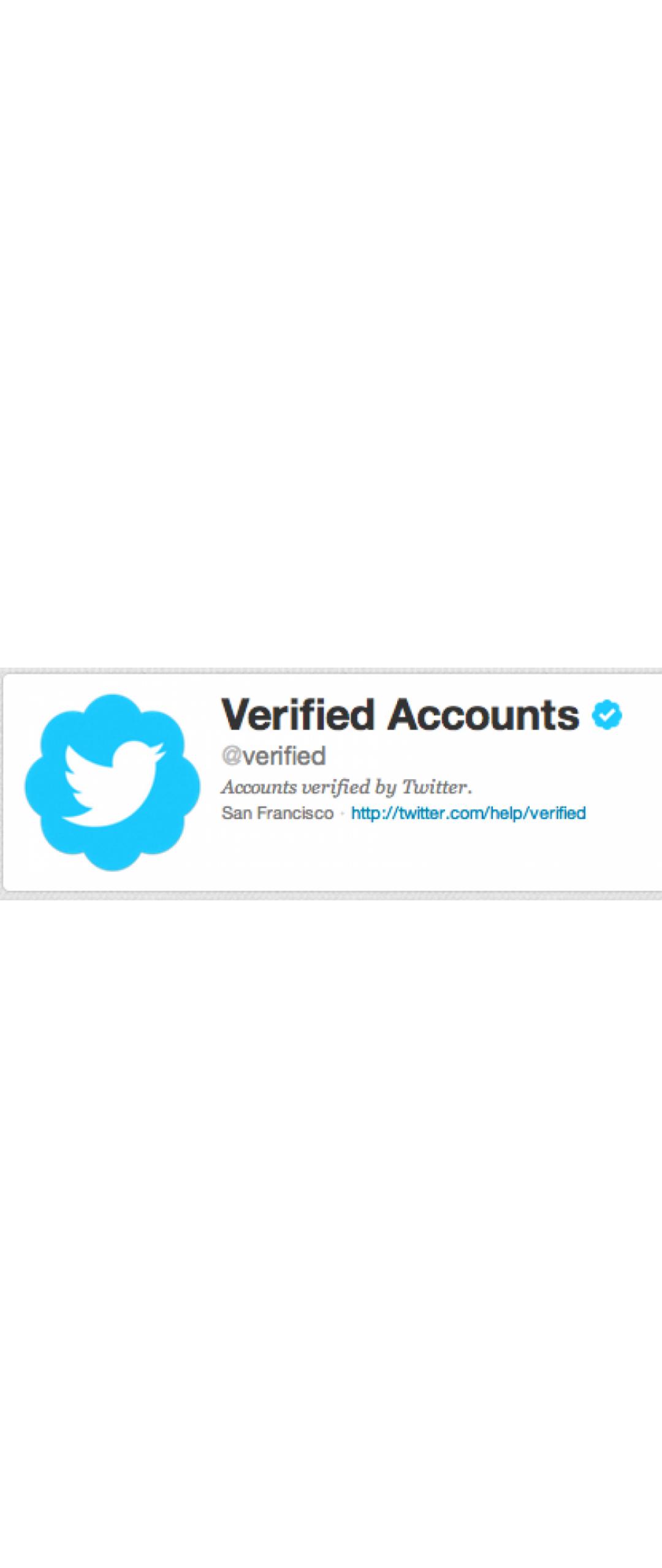 Twitter abre su proceso de verificación de cuentas para todos los usuarios
