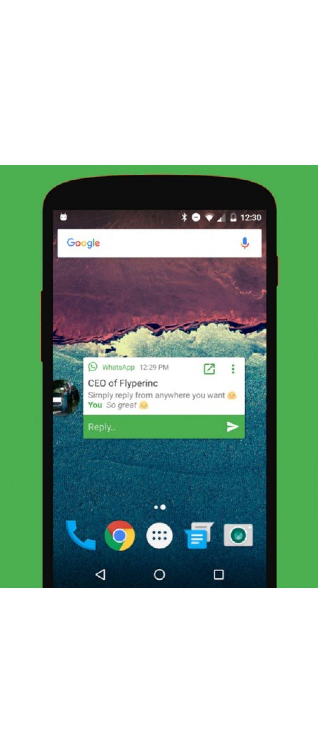 Notifly lleva las burbujas flotantes a WhatsApp en Android