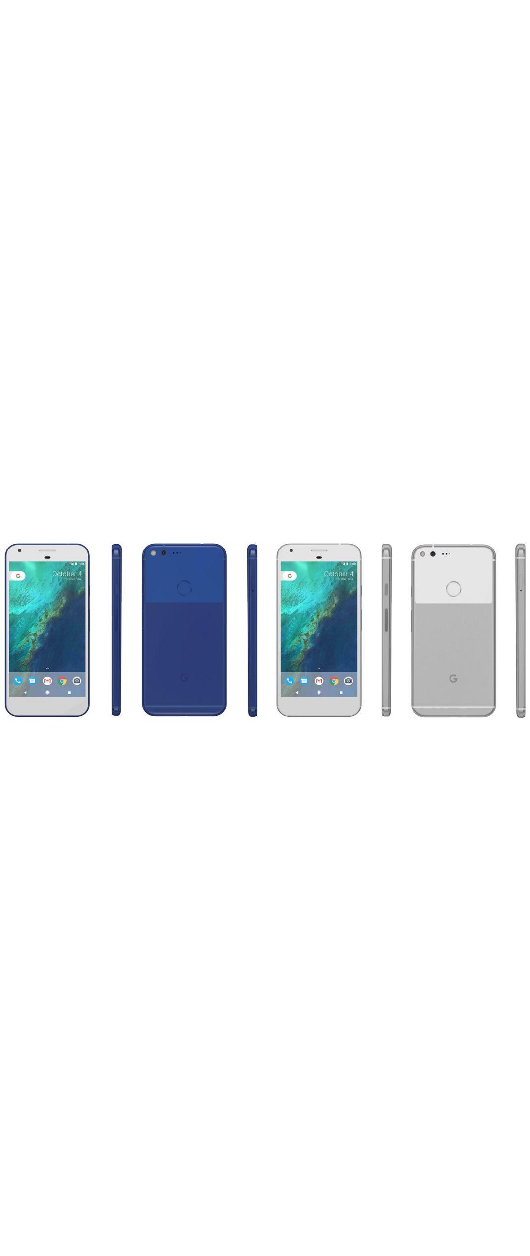 Estos serían los colores oficiales del Google Pixel