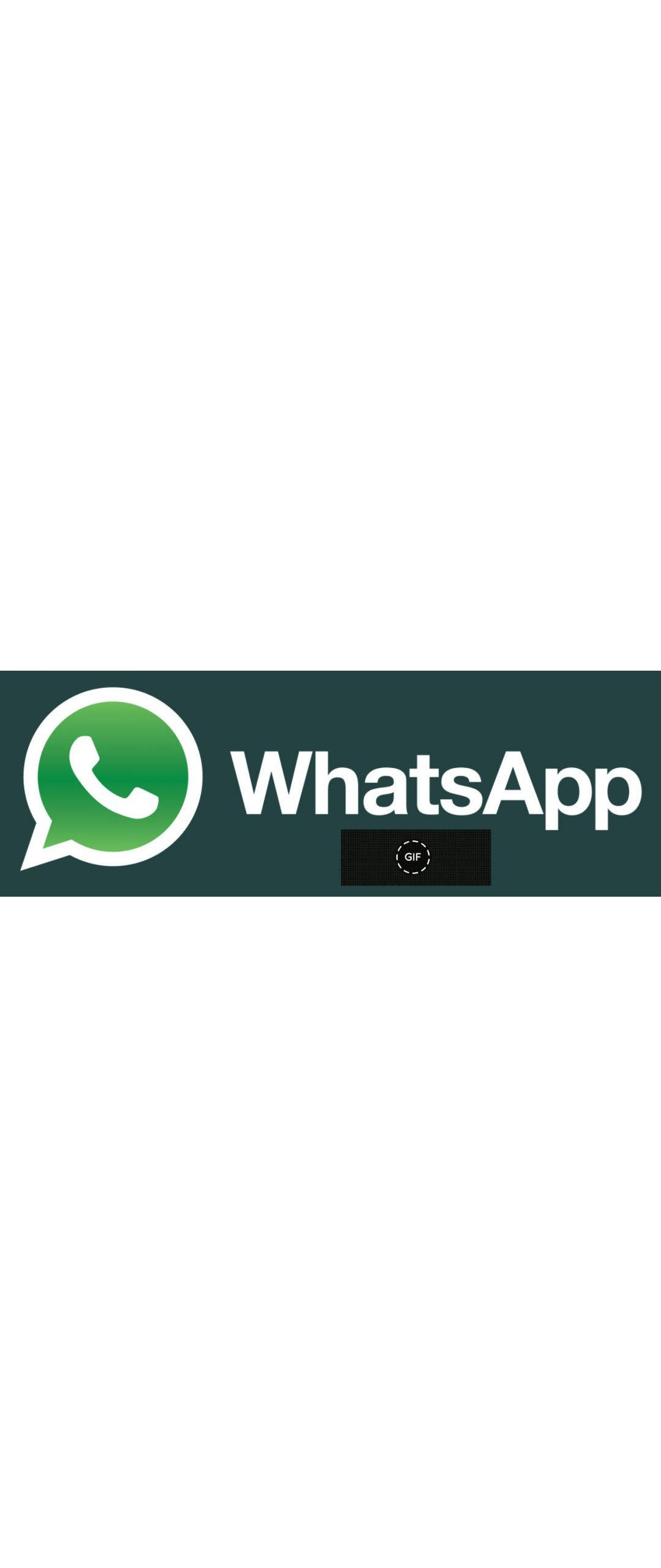 WhatsApp añade buscador de GIFs en la última beta