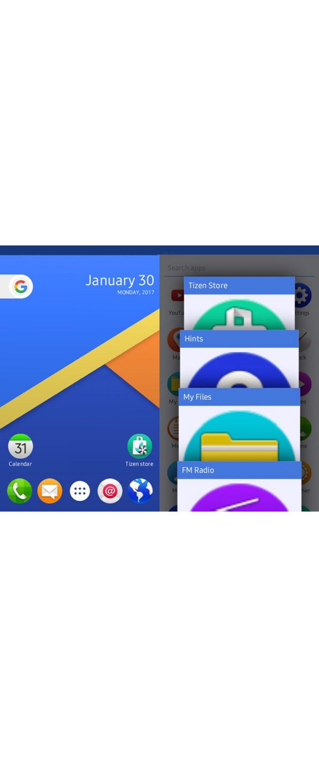 Smartphones Tizen reciben su dosis de Android 7.0 Nougat