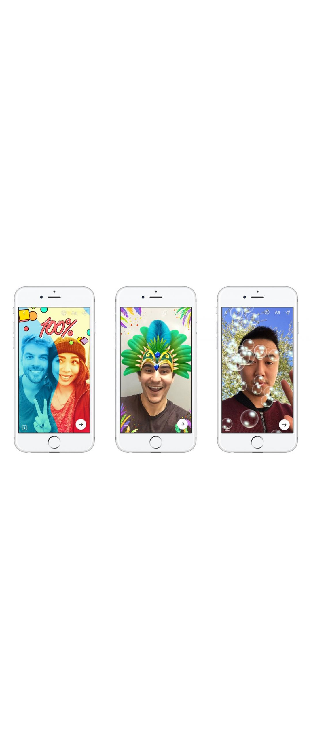 Facebook Messenger lanza su propio clon de Snapchat Stories