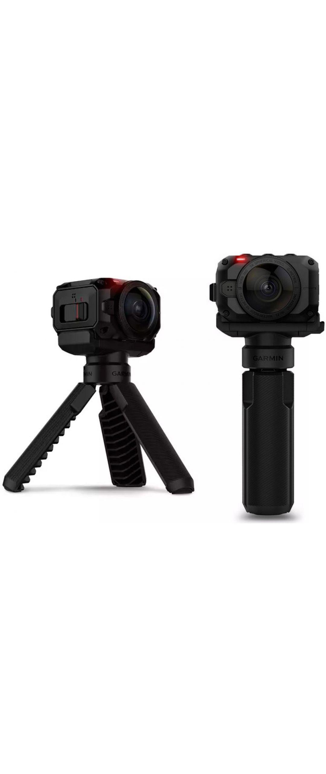 Garmin lanza cámara en 360° resistente al agua