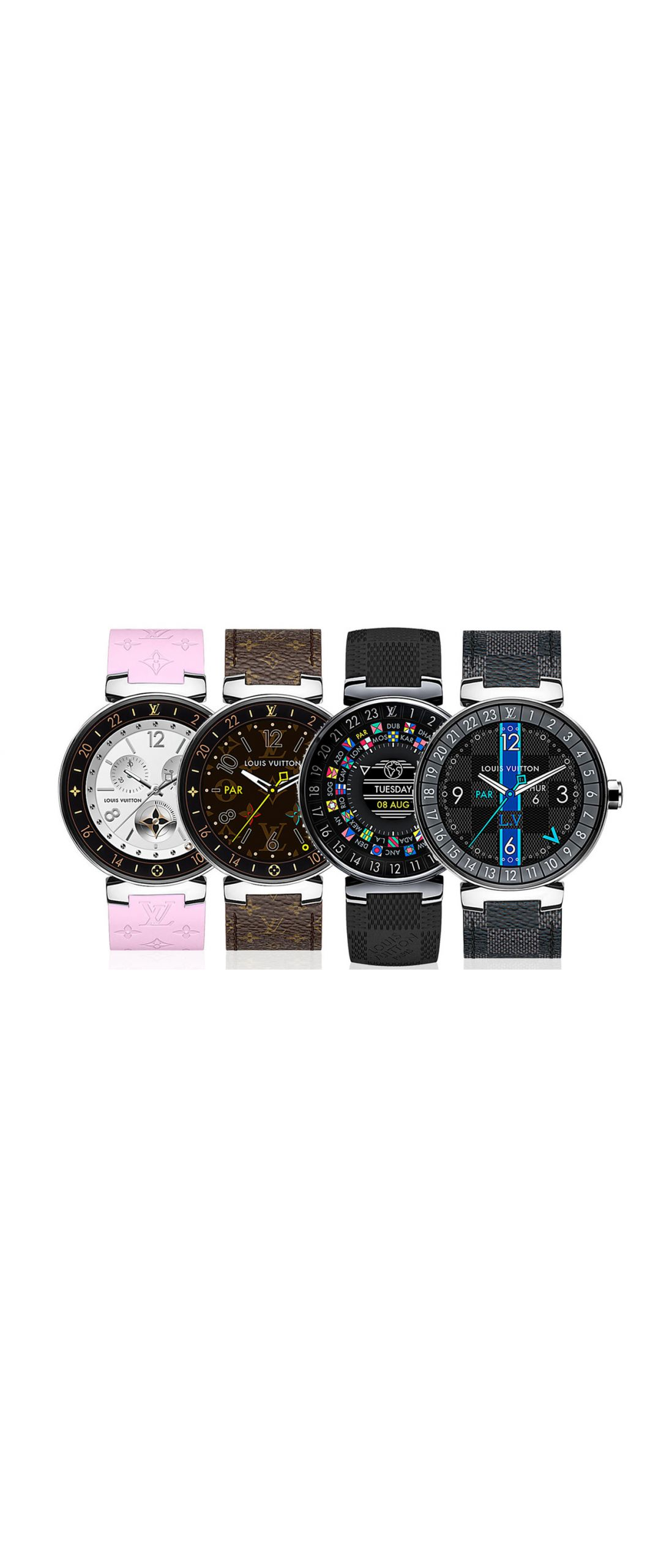 Louis Vuitton lanza un smartwatch Android que cuesta una fortuna