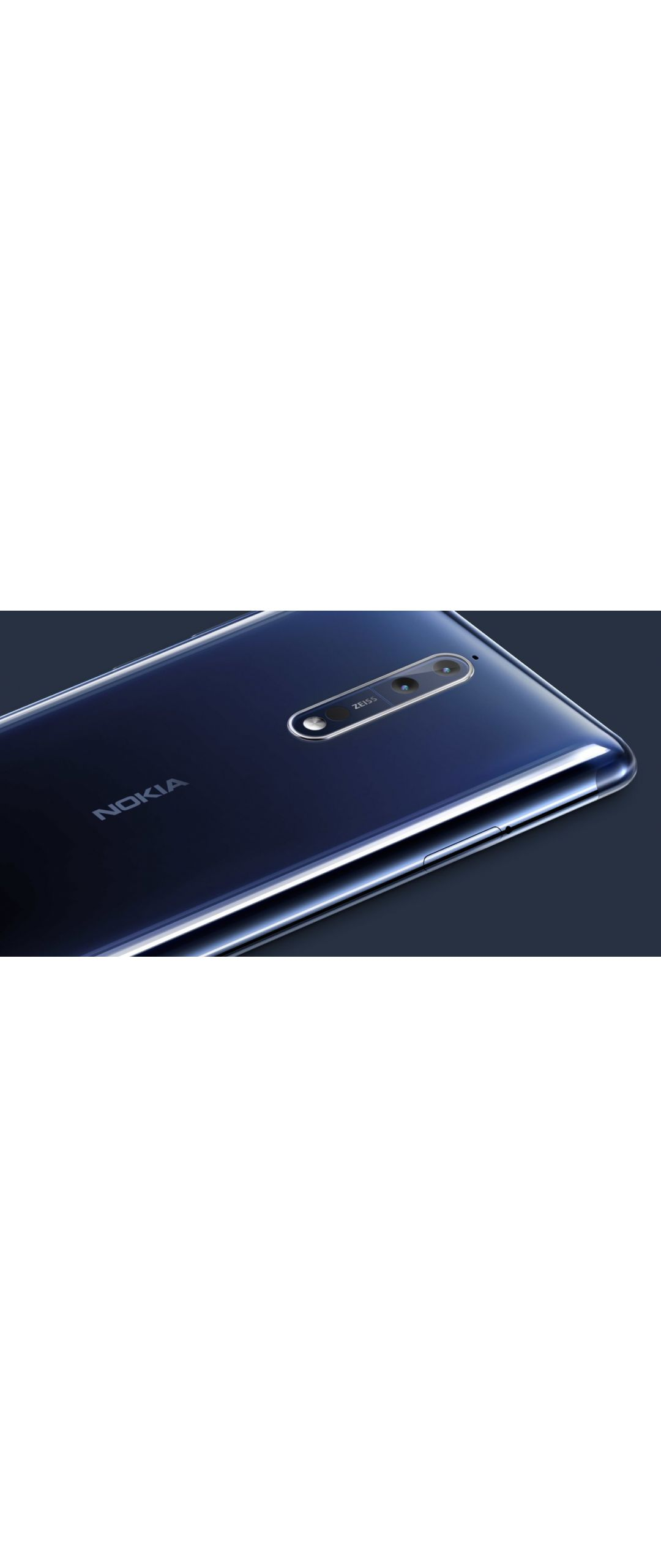Nokia 8: disponible programa beta de Android 8.0 Oreo