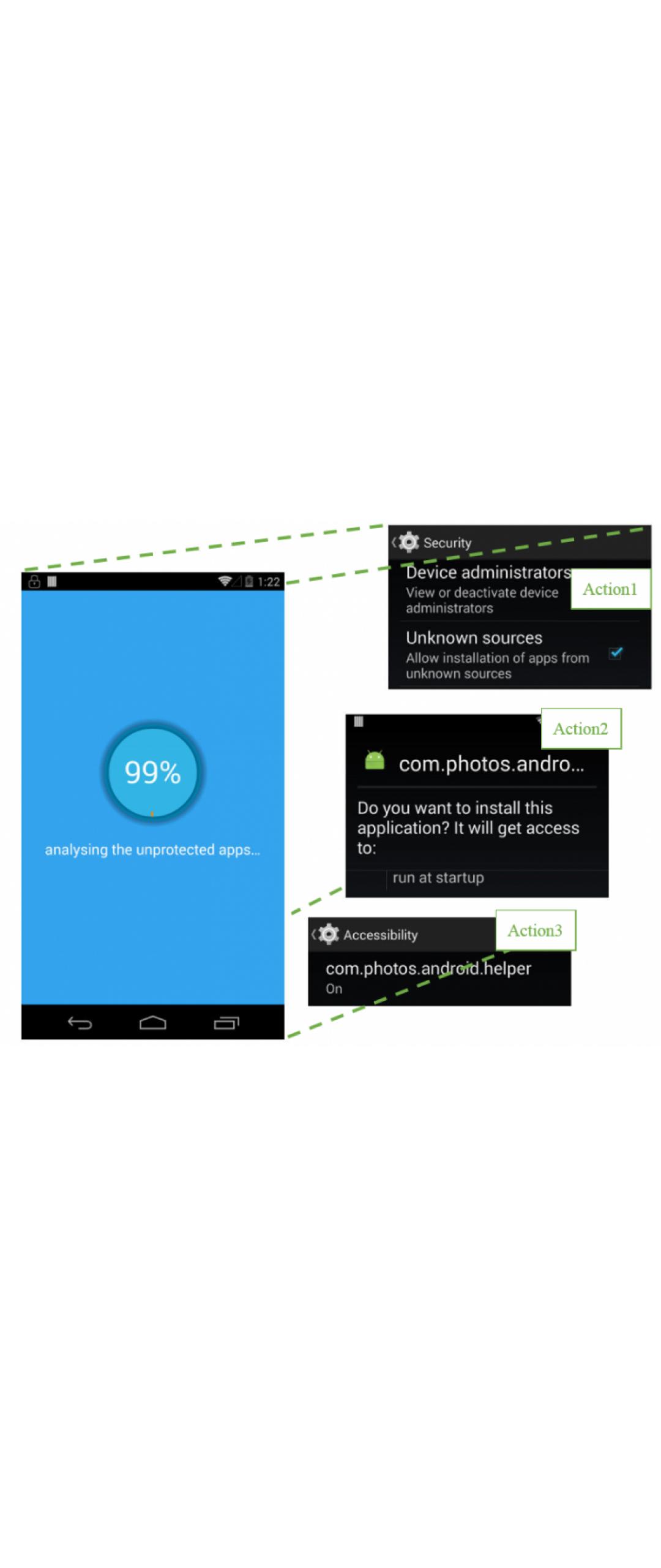 Apps usan servicios de accesibilidad para instalar malware en Android