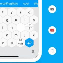 """Android estrenará teclado inteligente en forma de """"hexágono"""" y más veloz"""