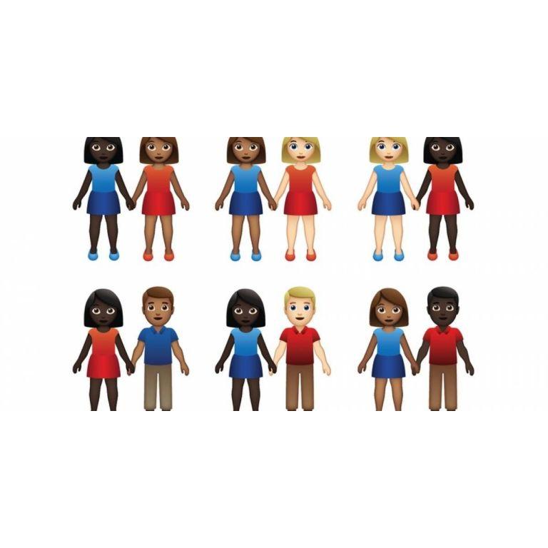 Ahora tendremos emojis de parejas interraciales y es gracias a Tinder
