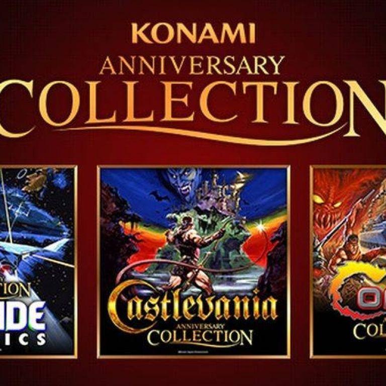 Konami lanzará colecciones de juegos clásicos para celebrar su 50 Aniversario