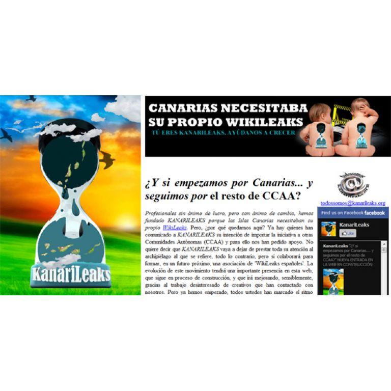 Nace ?KanariLeaks?, la versión española de Wikileaks