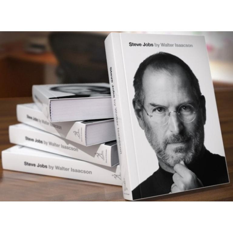 La biografía de Steve Jobs, promete ser el libro más vendido del año