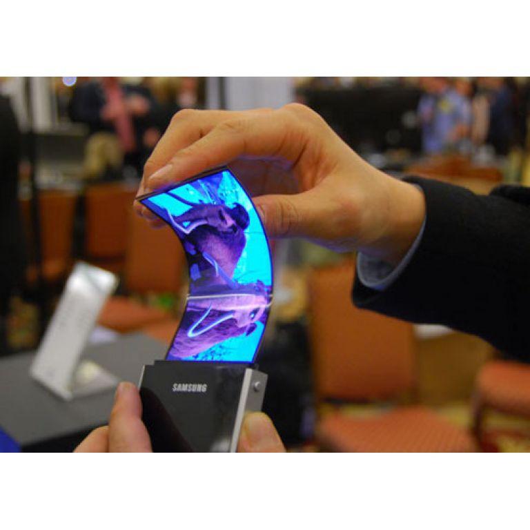 Samsung lanzará teléfonos con pantalla flexible