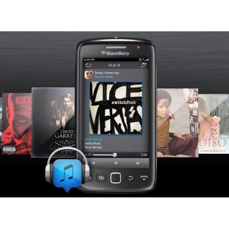 Research In Motion lanzó su servicio BlackBerry Music