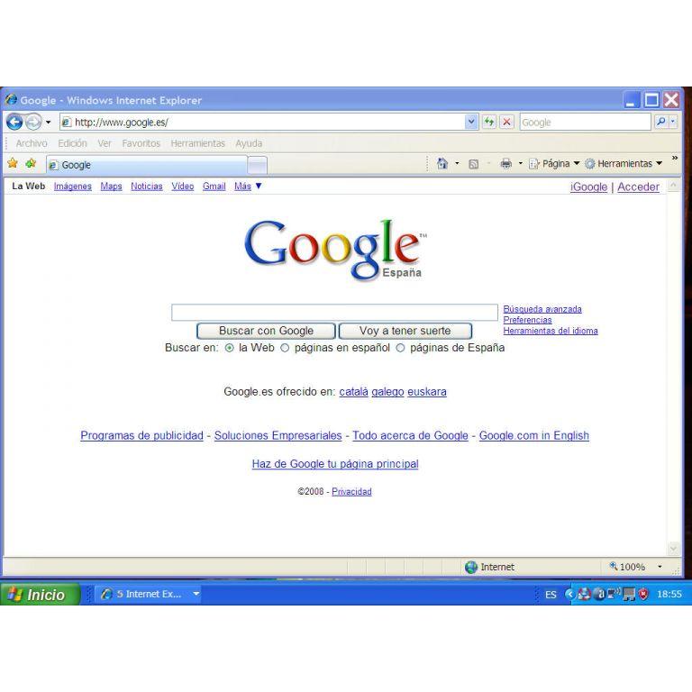 Google cambiará su página de inicio.