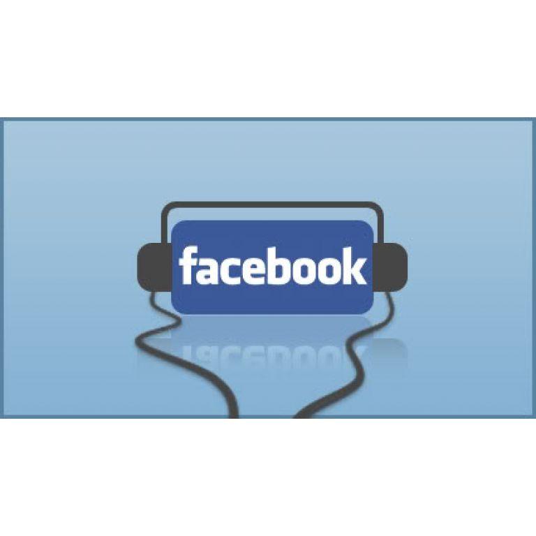 Ahora Facebook permite escuchar música con tus amigos vía chat.