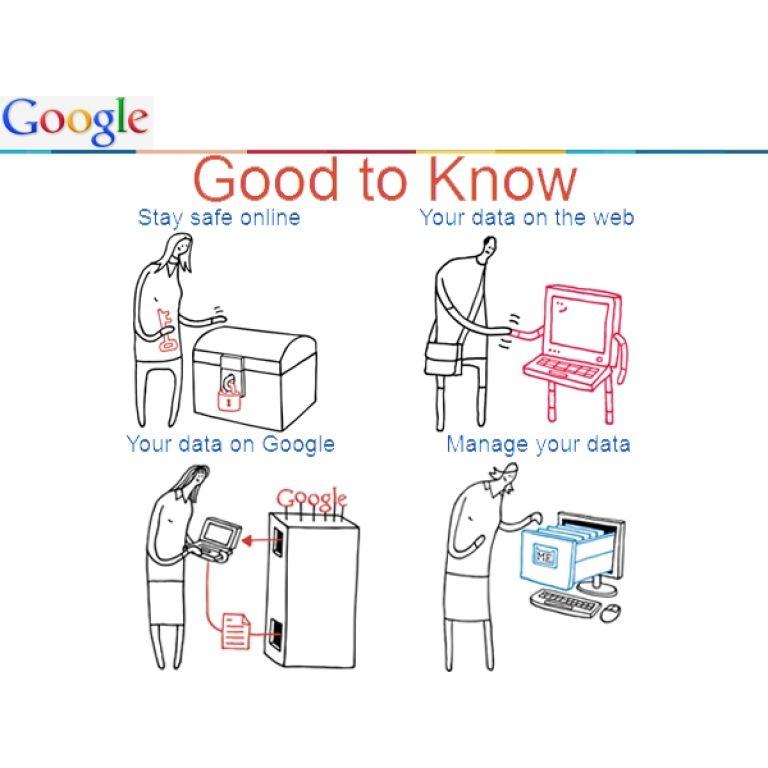 Google lanza una campaña de educación sobre el uso de internet.
