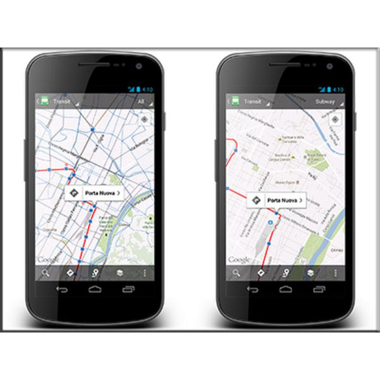 Google mejora su mapa de transporte público.