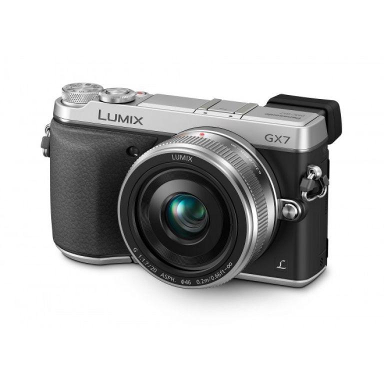 Panasonic lanzó el nuevo modelo Lumix GX7