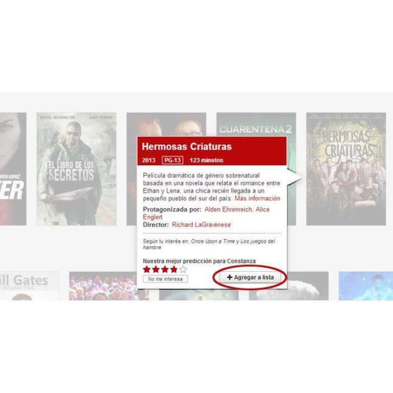 La nueva funcionalidad de Netflix permite agregar listas para guardar videos y verlos después