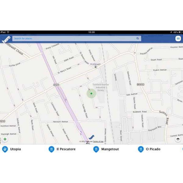 Nokia lanza una plataforma de mapas para coches llamada Here Auto