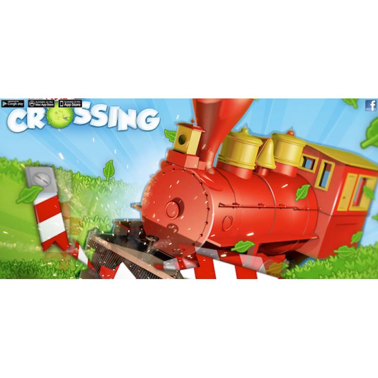 Con Level Crossing ahora podrás conducir un tren divertido y disparatado