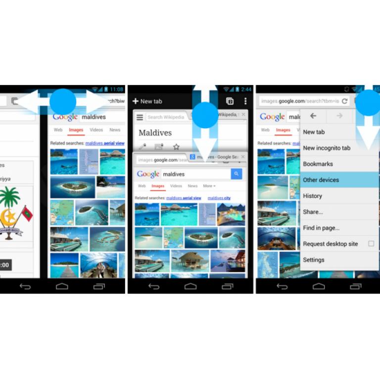 Usando el menú del botón derecho, Chrome 30 te permite buscar por imágenes