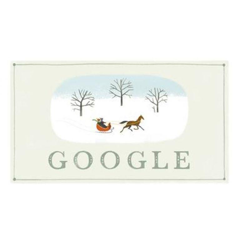 Google desea feliz navidad