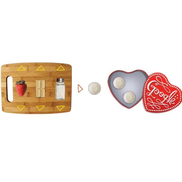 Google te permite crear bombones de San Valentín