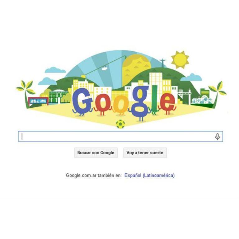 Google festeja el mundial de Brasil con un nuevo doodle
