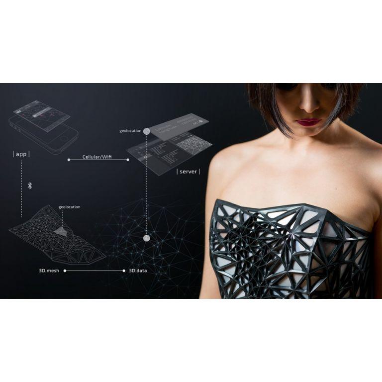 Un vestido que se transparenta