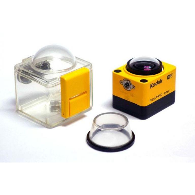 Kodak compite con una cámara que graba en 360º