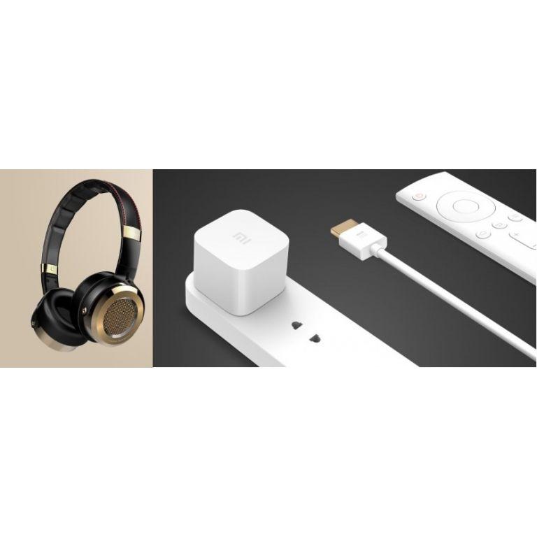 Nuevos auriculares y reproductor Mi Box mini de Xiaomi