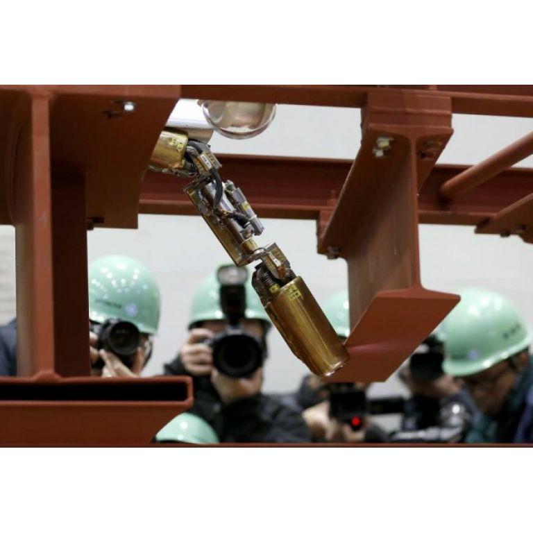 Las ruinas de Fukushima I seran exploradas por una serpiente Robot