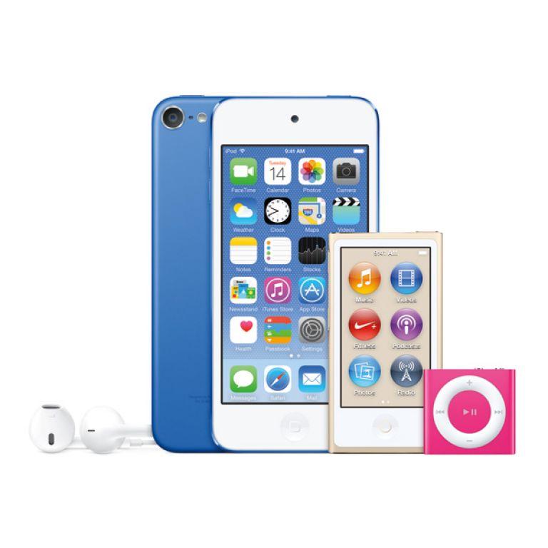 Se renovaron los iPod