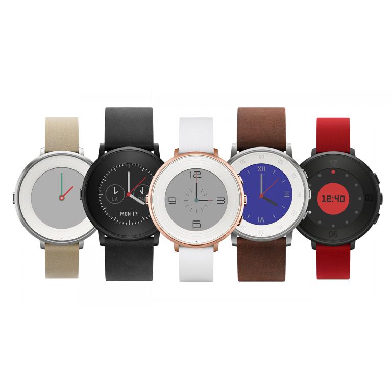 Pebble Time Round es el smartwatch circular de Pebble