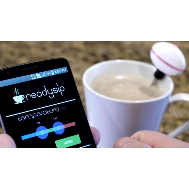 ReadySip convierte tu smartphone en termómetro para bebidas