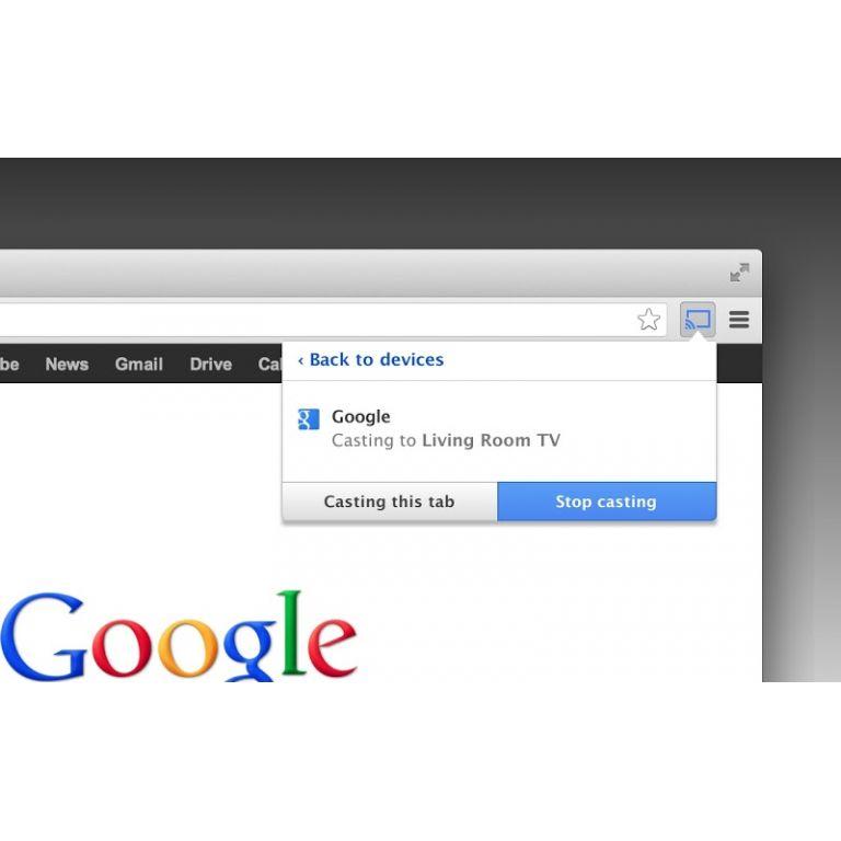 Google Chrome ya permite transmitir a Chromecast sin extensión