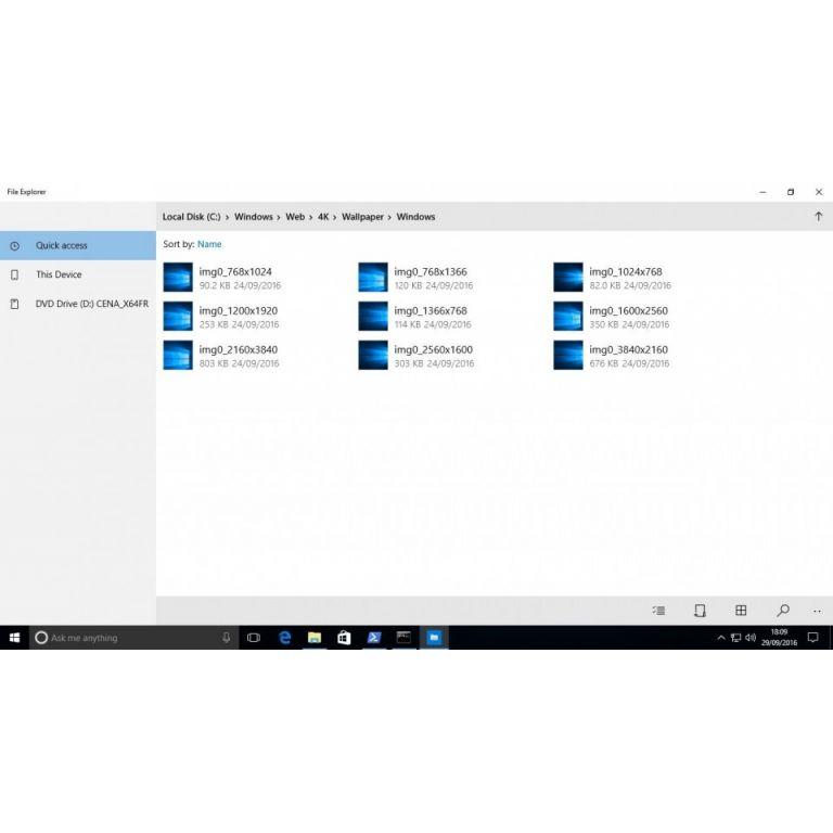 Así es el nuevo explorador de archivos para Windows 10