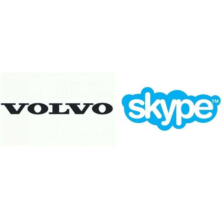 Volvo equipará algunos de sus coches con Skype