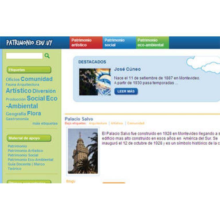 Portal interactivo del Patrimonio para XO
