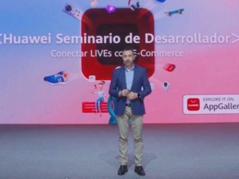 Huawei presentó una plataforma de streaming para vendedores