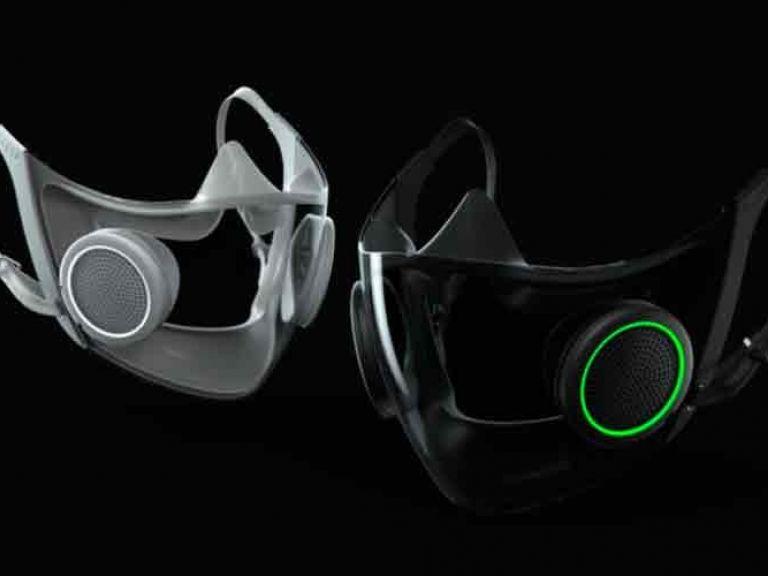 Esta mascarilla de cyberpunk de Razer te encantará con su RGB