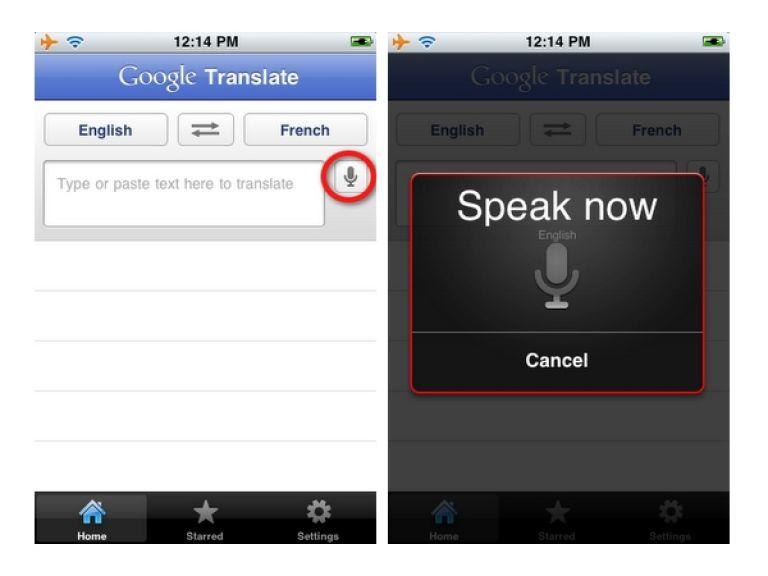 El traductor de Google llega al iPhone