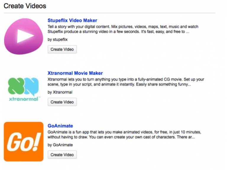Nuevas herramientas de YouTube permite crear animaciones y slideshows