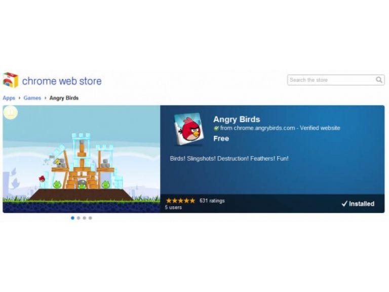 Gracias a aplicación de Chrome ya se puede jugar a Angry Birds en tu navegador