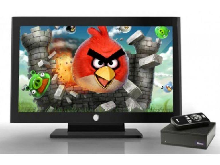 Ahora se puede jugar Angry Birds en la TV
