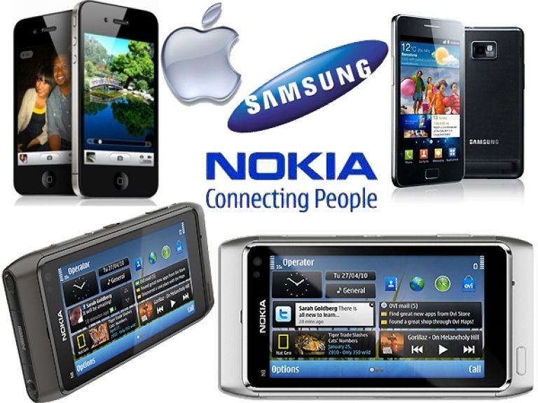 Apple y Samsung se convierten en los principales fabricantes de smartphones desplazando a Nokia
