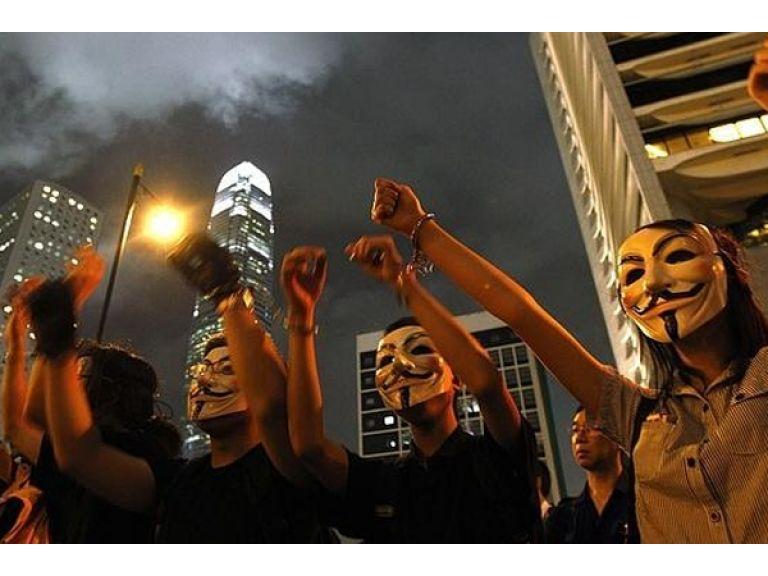 Anonymous anunció que hará desaparecer a facebook el 5 de noviembre