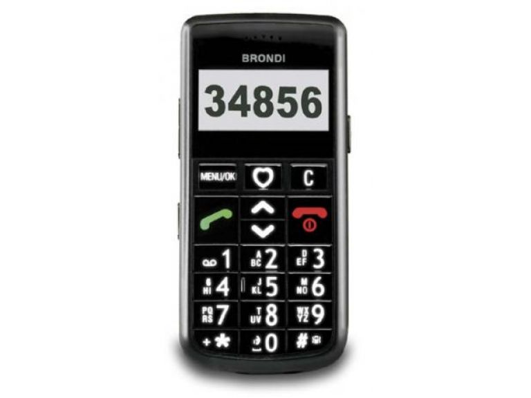 Lanzan un móvil para personas mayores.