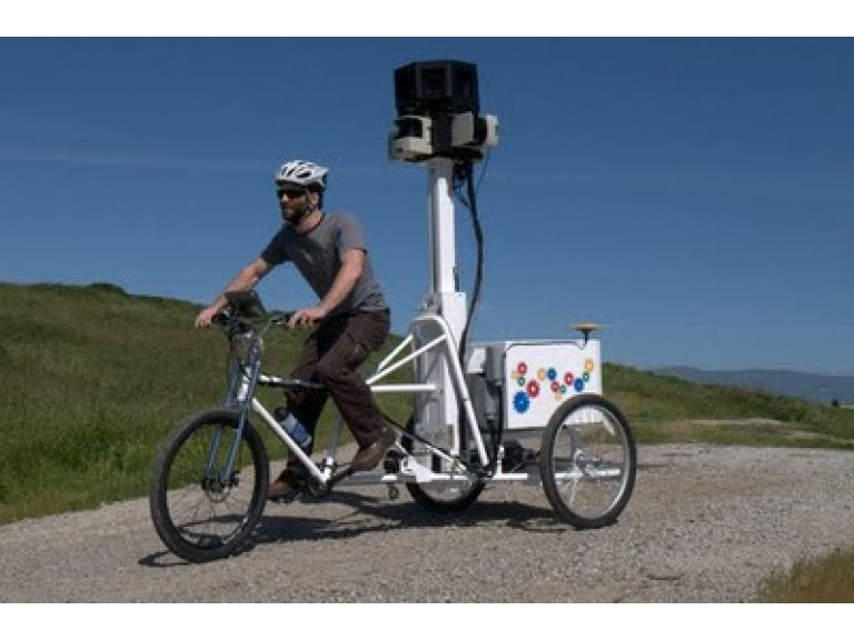 Street View Trike: La bicicleta de Google